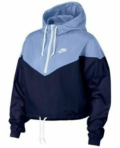 Clothing, Shoes & Accessories Women's Clothing Adaptable Nike Women's Windrunner Track Hooded Jacket Ar2511-493 All Size