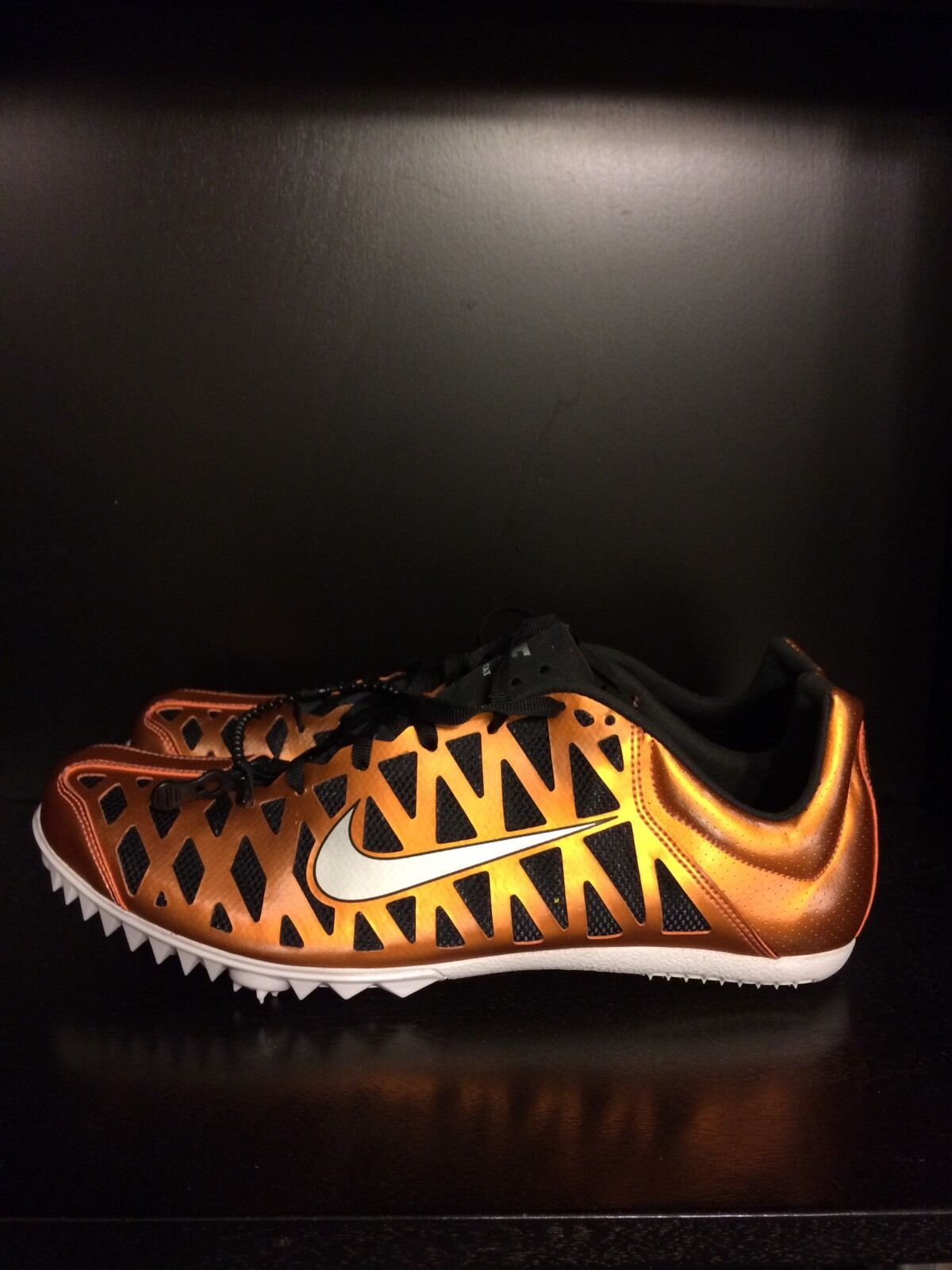 Cheap and beautiful fashion Nike Zoom Maxcat 3 Track Running Spikes Men's 8 Mins 9.5 NNB 414531 001 Price reduction