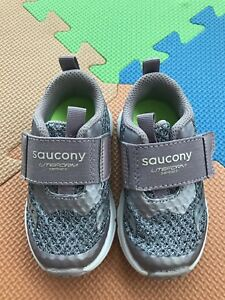2049dd58 Details about Saucony Kids Liteform Feel Sneakers Toddler 5.5M Silver Grey