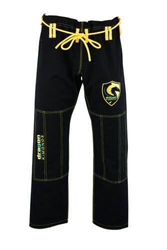 BJJ Gi Adults Kids Kimono Brazilian Jiu Jitsu Grappling Uniform Jacket and pants