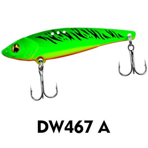 6PCS Fishing Spoon VIB Jigbait Spoon Lure baits 5//7//12//17//20g