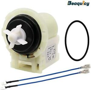 8540024 Front Load Washer Drain Pump  Motor Assembly by Beaquicy for Whirlpo