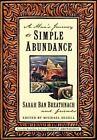 A Man's Journey to Simple Abundance by Sarah Ban Breathnach (2000, Hardcover)