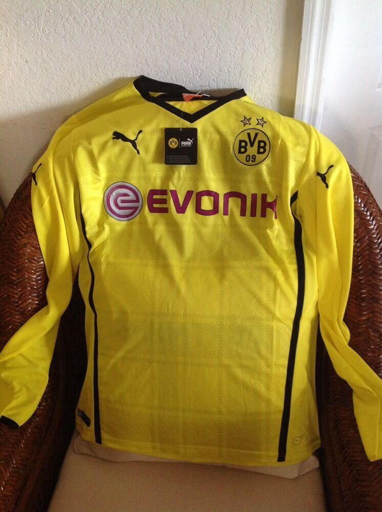 Puma Borussia Dortmund Fútbol Jersey Manga Larga Nuevo Con Etiquetas Talla XL para hombres