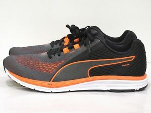 b48c97aa934 Puma Men s Speed 500 Ignite 2 Running Shoe Black Orange 11.5 M US ...