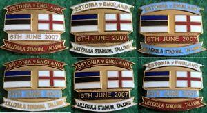 Estonia-v-England-2008-Euro-Qualifier-Tallinn-6-June-2007-Pin-Badge