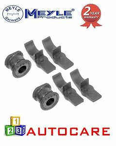 MEYLE-FRONT-ANTIROLL-BAR-OUTER-BUSHES-BRACKET-CLIPS-TORSION-for-MERCEDES-ML-W163