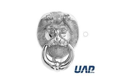 Animal Uk Lions Head Urn Door Knocker Chrome 5 Year Guarantee Ebay