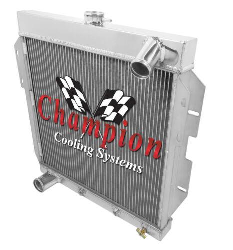 2 Row Ace Champion Radiator for 1955 1956 1957 Ford Thunderbird