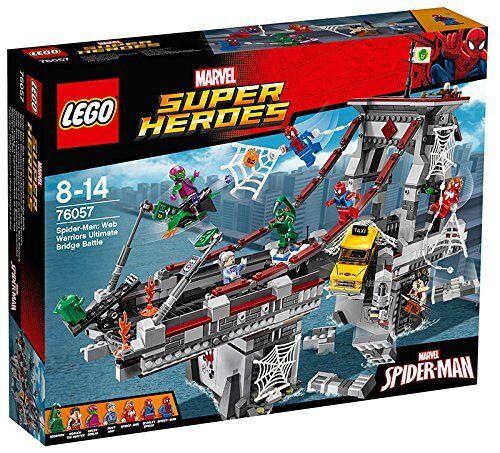 Lego 76057 Spider-Man  Combate Definitivo entre los Guerreros Arácnidos