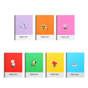 BTS BT21 Official Authentic Goods Cornell Note 7Characters by Line Friends