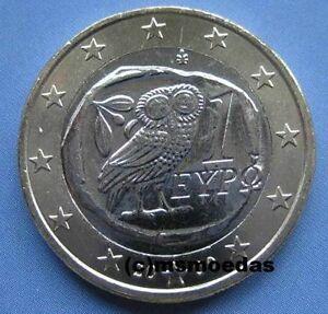 Griechenland 1 Euro Münze Prägejahr Wahl Euromünze Coin Moedas