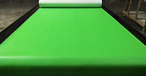 "15 YARDS LIME GREEN MARINE OUTDOOR AUTO FABRIC BOAT UPHOLSTERY 54""W VINYL"