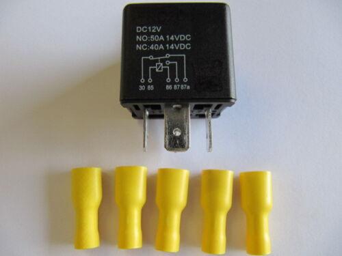 cambiador alta electricidad KFZ-relés trabajo de electricidad 12v 50a set10
