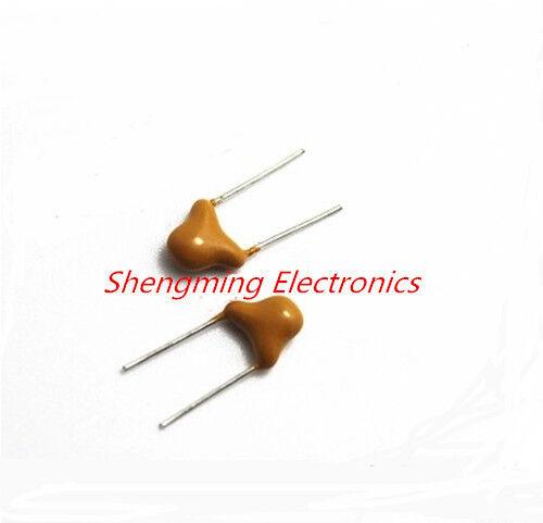 100PCS 681 680pF 50V Monolithic capacitor pin=5.08mm