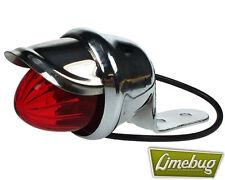 Red Light Mini Indicator Spotlight Visor VW Beetle Buggy T1 Hotrod Lights Bulb