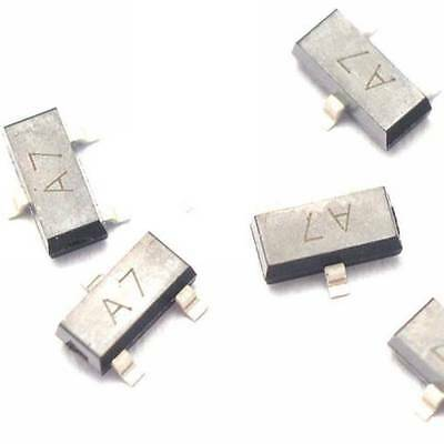 100PCS BAV99 A7 0.2A/70V SOT23 SMD switch transistor NEW