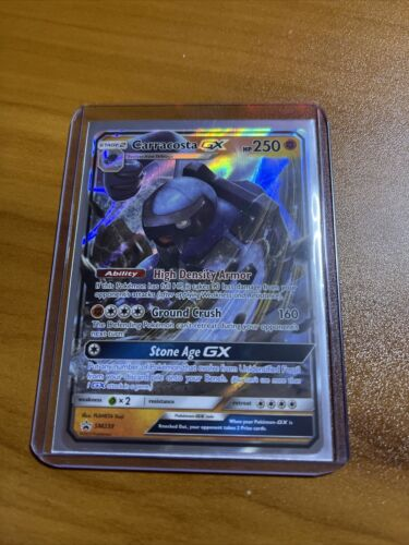 Carracosta GX SM239 Ultra Rare Holo Pokemon Black Star Promo Card TCG