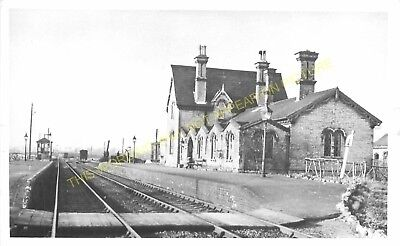 Midland. 3 Cardington Railway Station Photo Southill Hithin Line Bedford