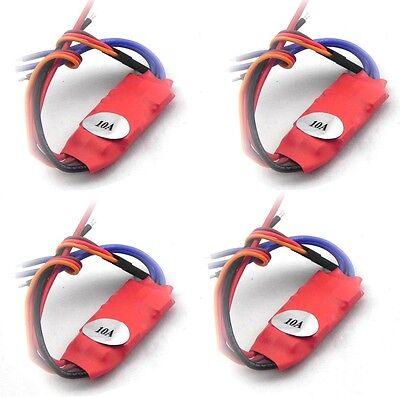 4pcs 2-3S 10AMP 10A SimonK firmware Brushless ESC w/BEC Quad Multi APM S