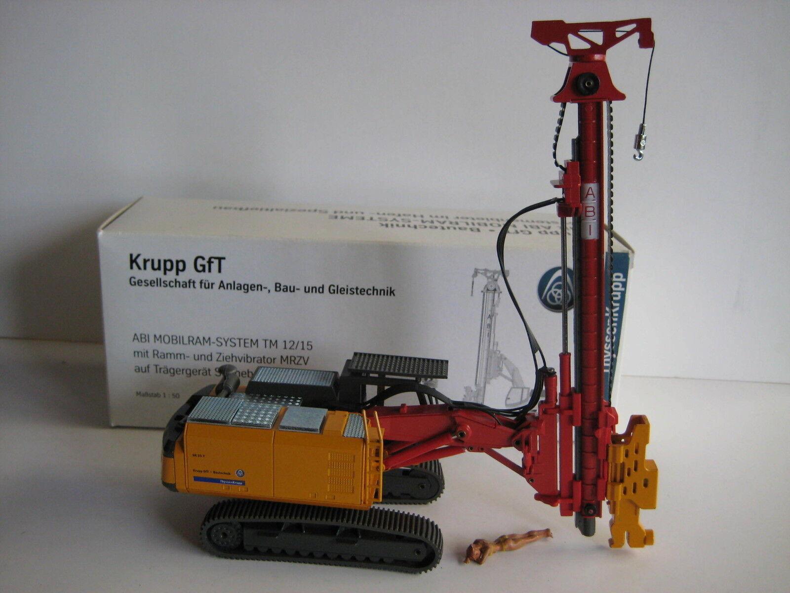 Thyssen Krupp Krupp Krupp GFT Abi TM 12-15 Pilon #2915.2 CONRAD 1:50 NEUF dans sa boîte | Pas Cher  3c87f6