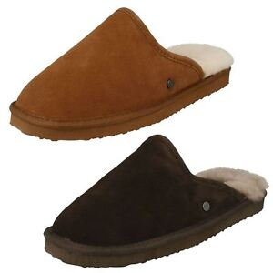 ad94ae21f Image is loading Mens-Padders-Genuine-Lined-Sheepskin-Mule-Slippers-039-