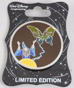 WDI-D23-Expo-Stained-Glass-Sorcerers-Apprentice-Yen-Sid-amp-Butterfly-Pin-LE-300