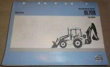 Volvo Bl70b Backhoe Loader Tractor Parts Manual Book Catalog Sn 330104 Up