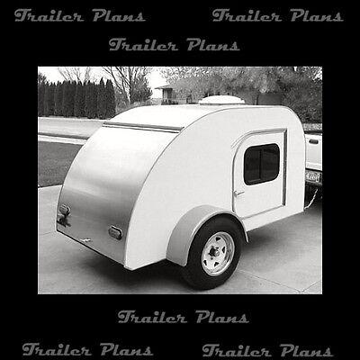 Best Teardrop Camper Trailer Plans Available! Trailer Plans, Teardrop Plans