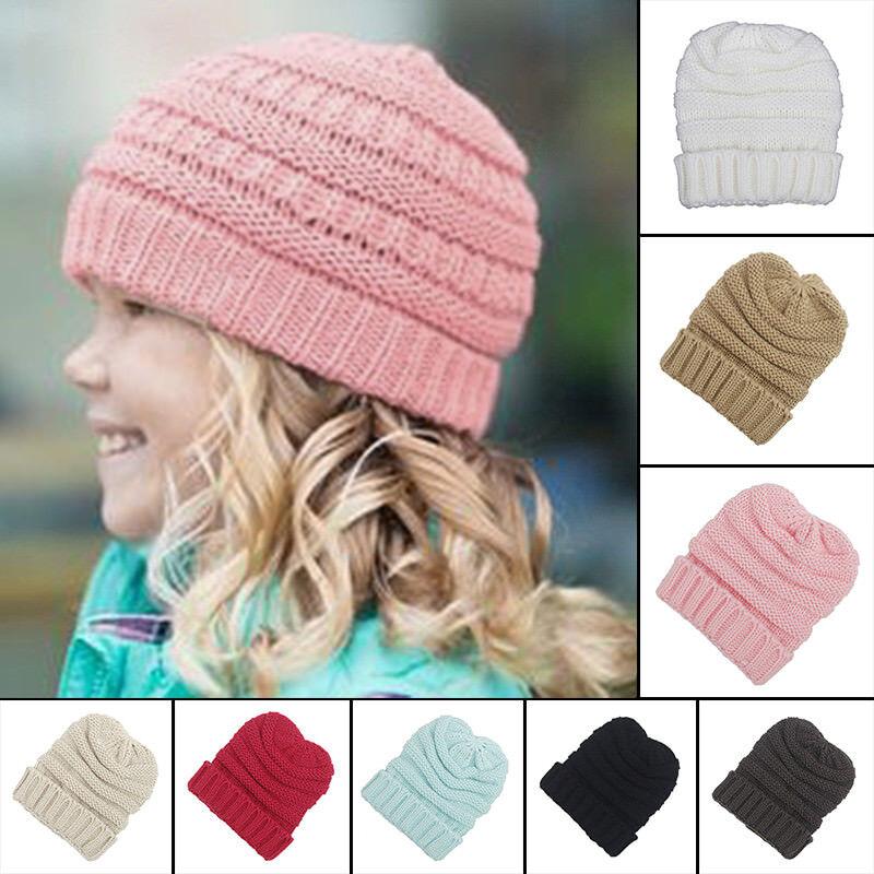 6f164aadeb2 Toddler Kid Girl Boy Baby Infant Winter Warm Crochet Knit Hat Beanie Cap  outdoor