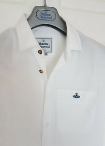 BNWOT-Mens-VIVIENNE-WESTWOOD-short-sleeve-shirt-size-46-medium-RRP-260