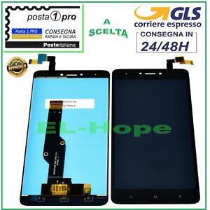 DISPLAY-LCD-XIAOMI-REDMI-NOTE-4-4X-GLOBAL-TOUCH-SCREEN-SCHERMO-VETRO-NERO