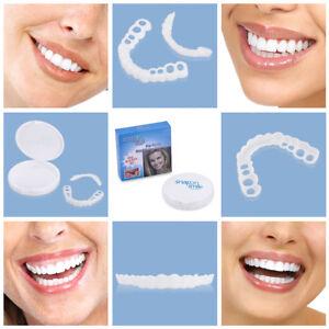 NEW Perfect Smile Instant Teeth Secure Cosmetic Veneers Snap On Comfort Covers