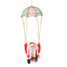 Home Living Room Decor Gift Special Singing Electric Parachuting Santa Claus Toy