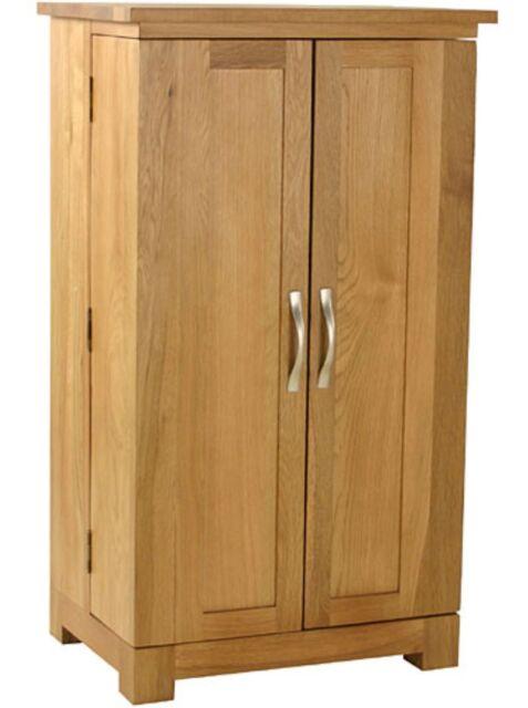 Carne Oak DVD/CD Storage Cupboard / Cabinet / Storage