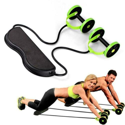 Muscle Trainer Exercise Training For Home Gym Fitness Equipment Ab Roller Wheel