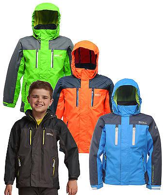 Regatta Captive Kids Jacket Girls Boys Waterproof /& Breathable RKW084