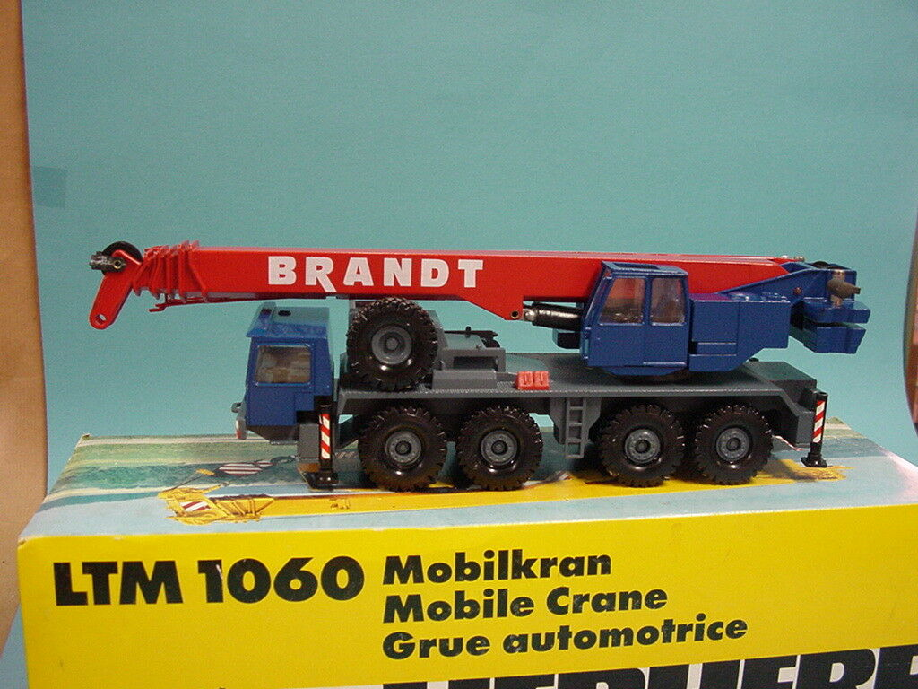 Conrad 2079 1 50 grue mobile LTM 1060 Liebherr Brandt Top + neuf dans sa boîte