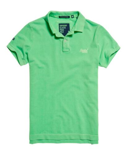 "SUPERDRY,Poloshirt /""Vintage Destroyed/""theme,Lime Grun farbe."