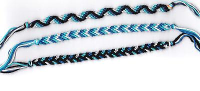 bracelet bresilien bleu homme
