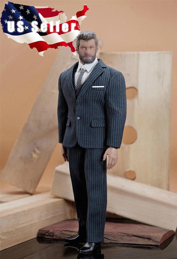 1 6 Men Classic Business Suit Set C For Muscular Figure TBL PHICEN M34 M35 ❶USA❶