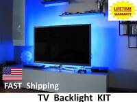 Led & Lcd Flat Screen Tv Backlighting - Fits Sharp 37 40 42 50 52 55 60