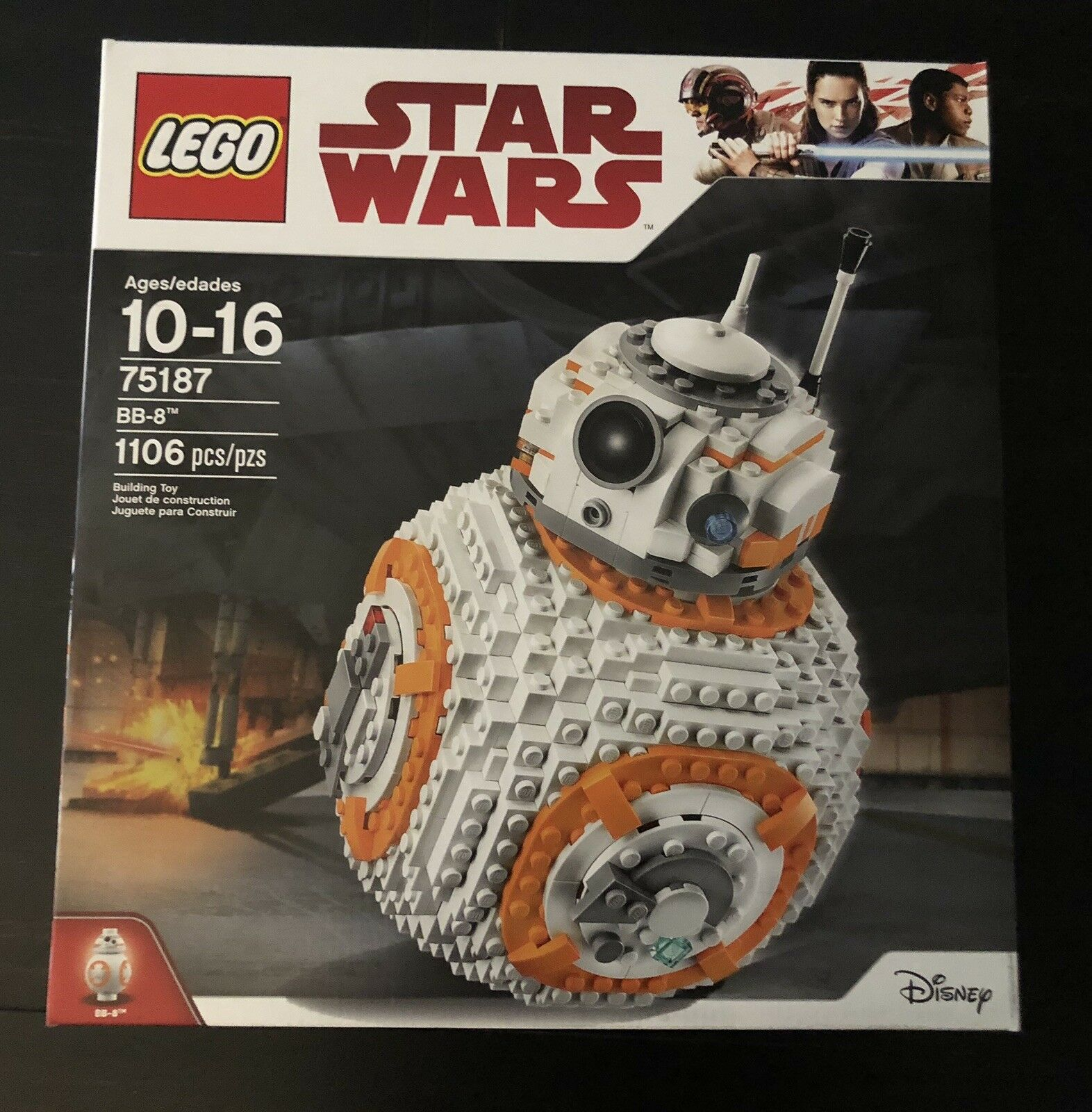 LEGO Star Wars BB-8 1106 Pieces Building Toy 75187  2017 NEW in Box