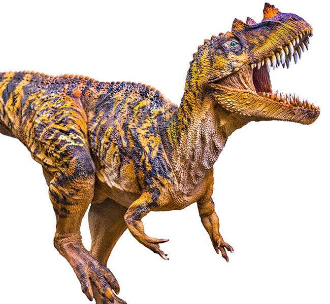 Realistic Jurassic Ceratosaurus Dinosaur Toy Action Figure Model Kids Christmas