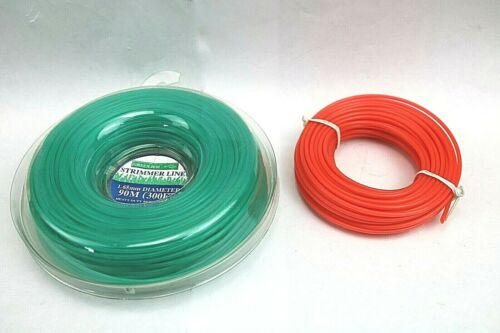 Strimmer Line Grass Headge Trimmer Replacement Roll Spool 90m//13m 1.65mm 1.9mm