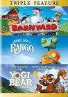 Barnyard Rango Yogi Bear 0883929400461 With Kevin James DVD Region 1