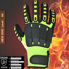 Anti Vibration Working Safty Gloves Shock Absorbing Gloves Impact Resistant Work