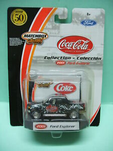 Matchbox-FORD-EXPLORER-2001-Collection-COCA-COLA-1-64
