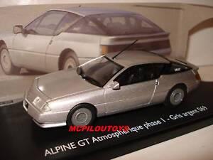 ELIGOR-RENAULT-ALPINE-GT-PHASE-1-GRIS-ARGENT-au-1-43