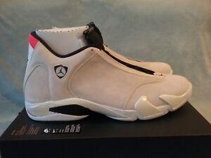 c5b9e72014b2a8 Nike Air Jordan 14 Retro Desert Sand White 487471-021 Size 18